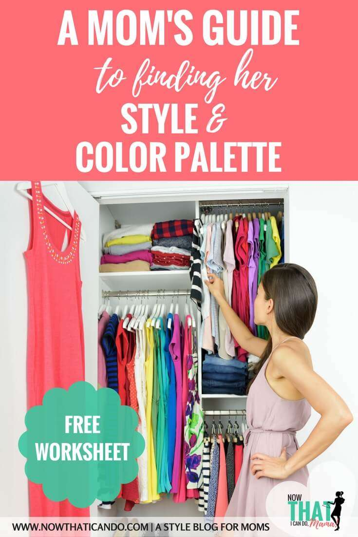 The Elastic Wardrobe (Part 2): Your Style & Color Palette (+ free printable PDF worksheet)