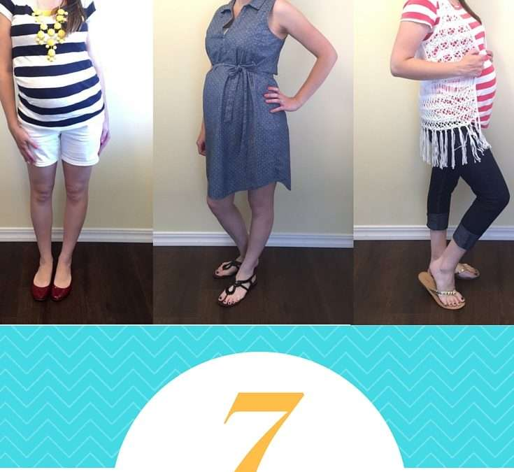 7 Easiest Summer Outfits for Moms (+ accompanying hair styles)