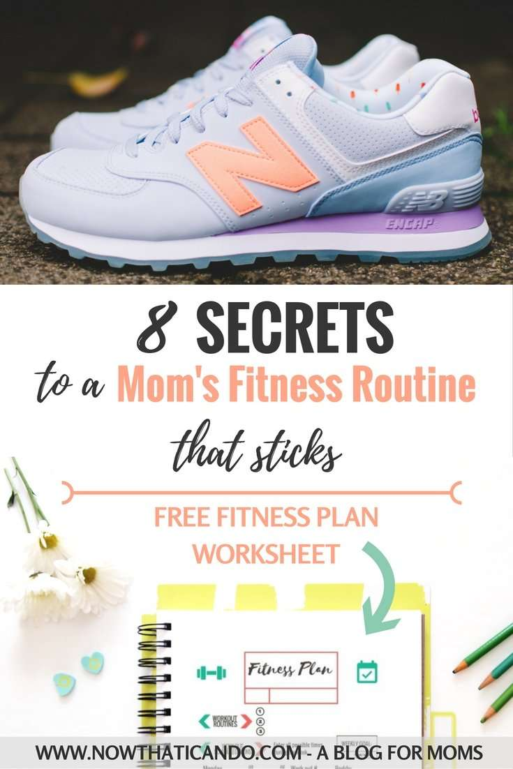 8 Secrets to a Fitness Routine that Sticks (+ printable fitness plan worksheet)