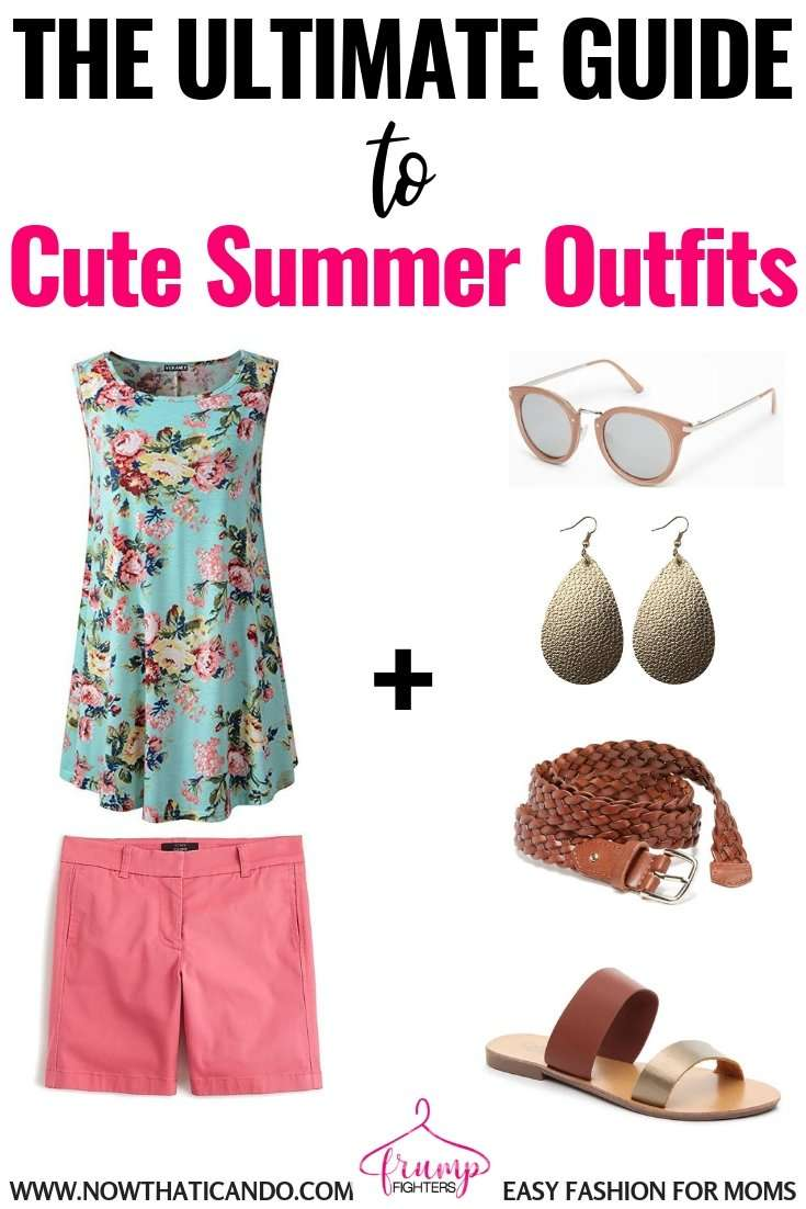 You don't have to add layers to create fun and trendy summer outfits that are cool enough to wear during the hot weather. I love this blog's easy tips on how you can make a few simple changes and have an entirely new outfit! Dressing for summer just got so much easier. #summer #summerfashion #momlife #outfits #easy #tips