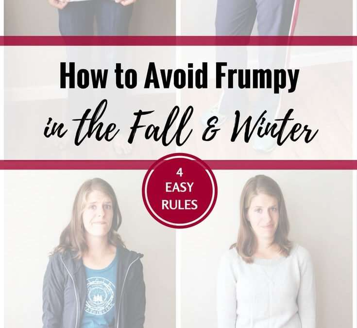 How To Not Look Like a Frumpy Mom (fall/winter edition)