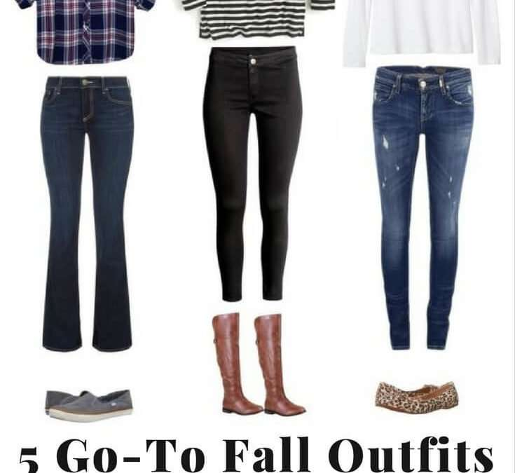 5 Go-to Fall Outfits for Moms (with easy outfit formulas)