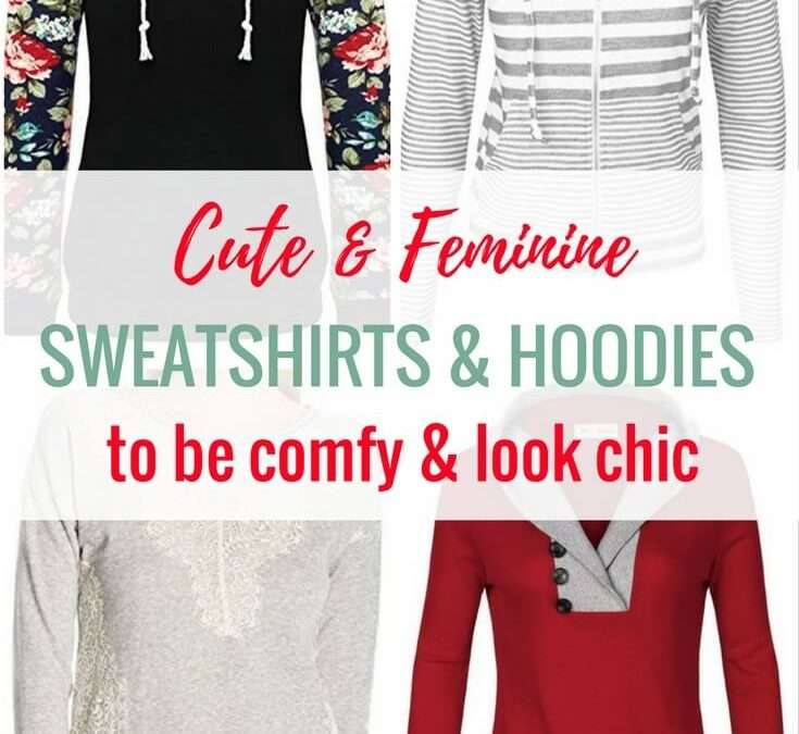 Cute & Feminine Sweatshirts Under $30 for the Chic Stay-at-Home Mom (+ How to Style Them)