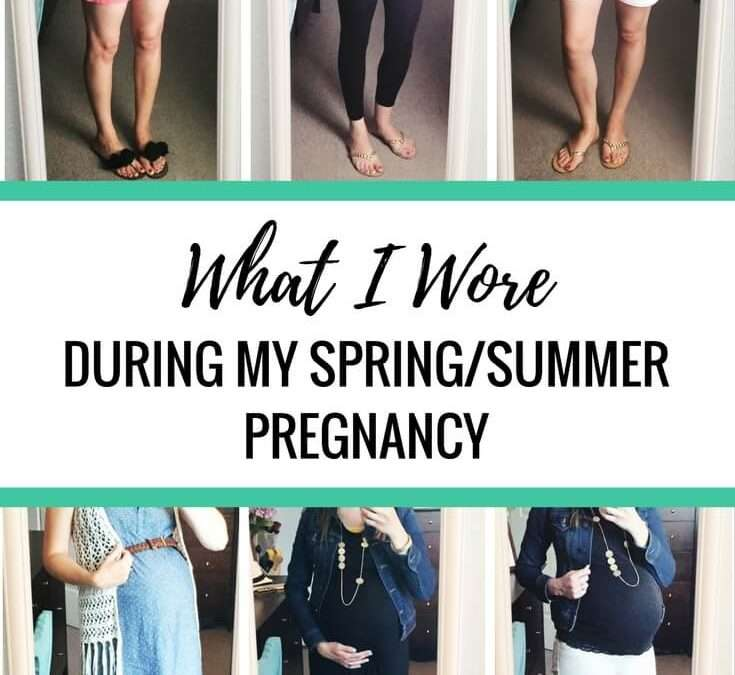 68+ Cute Maternity Outfits (from the Spring/Summer Pregnancy Capsule)