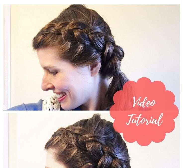Easy Mom Hair (Wet Hairstyle): 5-Minute Side Dutch Braid