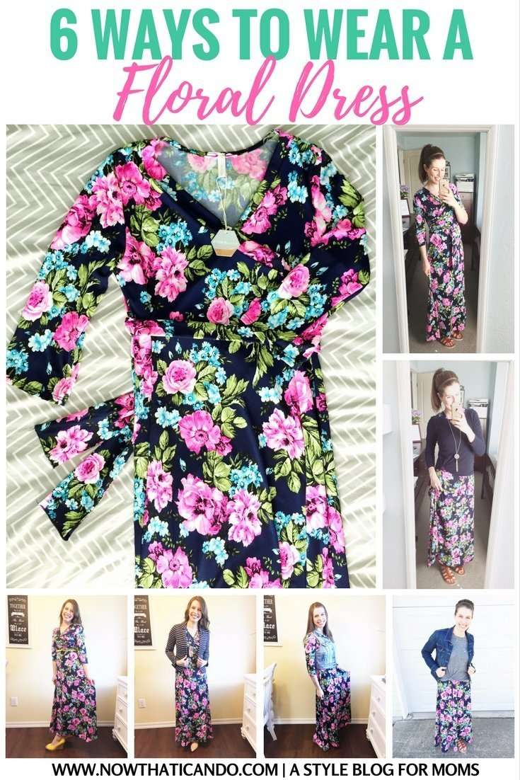 6 Ways to Style a Floral Dress