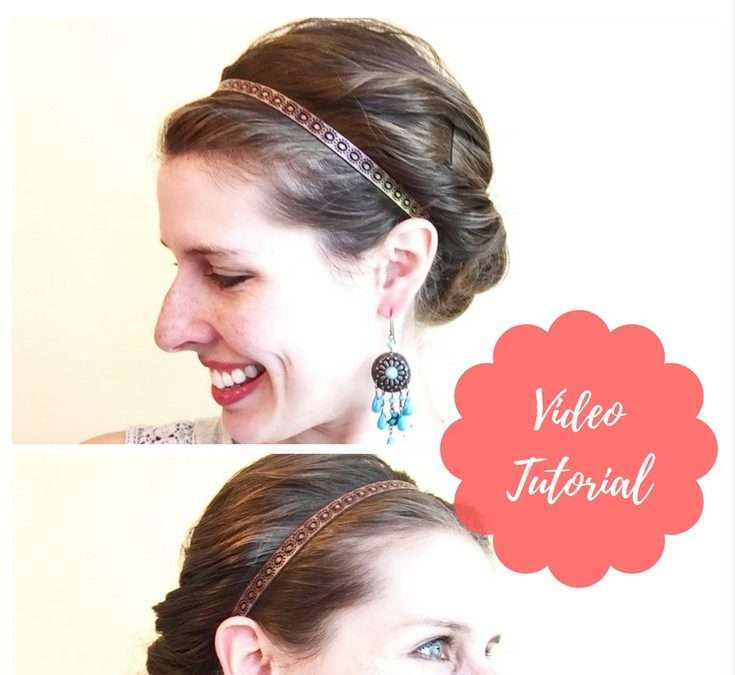 Easy Mom Hair (Wet Hair Style): The Tentative Topsy