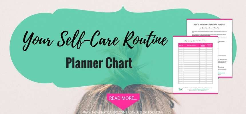 Free Printable Schedule Template PDF - Self Care Routine Planner for Moms