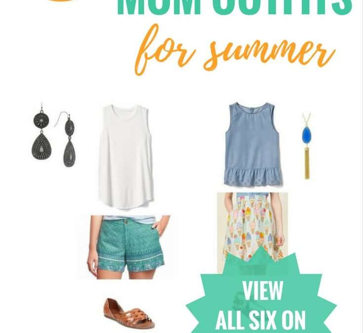 6 Frump-Free Mom Outfits To Beat The Summer Heat