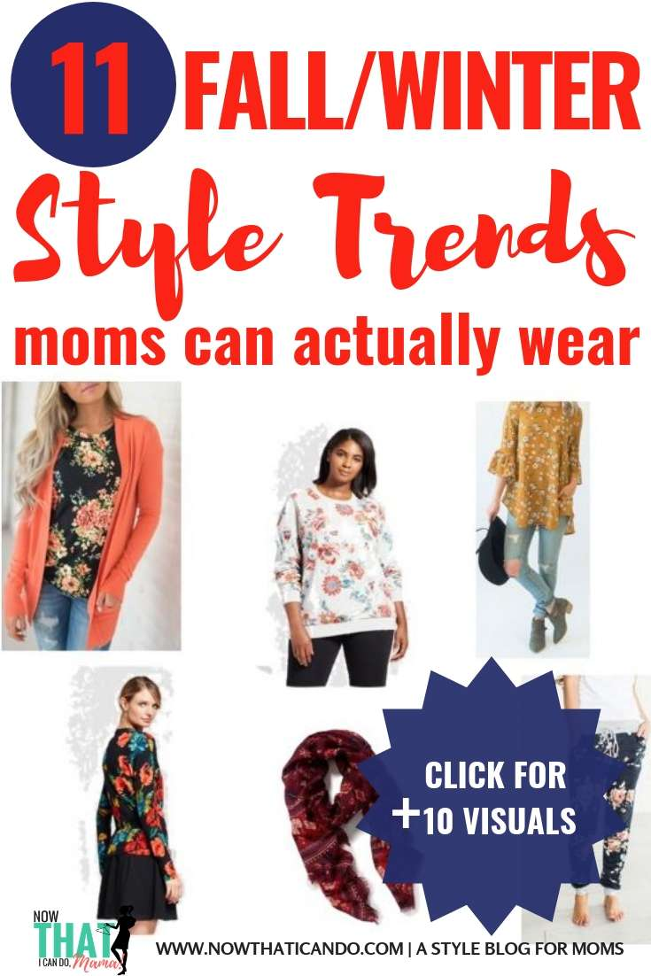 Are you a mom and want to look stylish while still being comfortable for a stay at home or on the go mom life? Here are 11 fashion trends for this fall and winter that are easy to copy on a budget. This blog shares fashion trends & easy tips for basic, chic mom outfits that are comfortable! I don't have any fashion sense, but this blog has made it possible to look put together (and not frumpy) as a mom with kids.