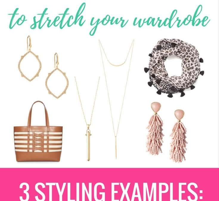 How To Use Accessories to Dress Up 3 Basic Looks (and stretch your wardrobe!)