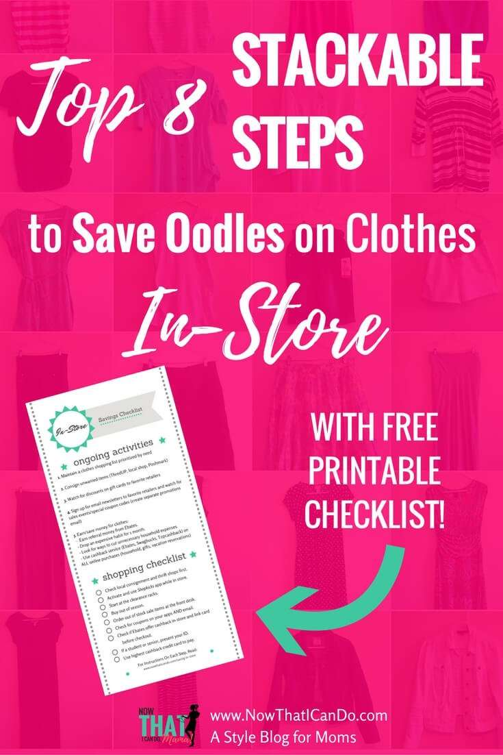 Do you struggle saving money while you're shopping at the mall Shopping with a clothing budget doesn't have to be hard! Here are some great tips on ways to maximize your savings on clothes while shopping in store!