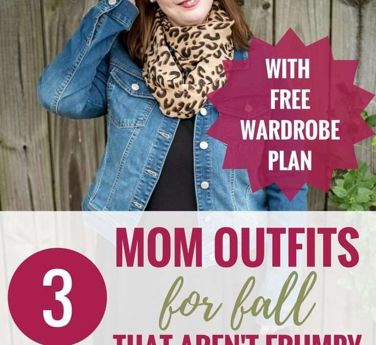 3 Stylish But Comfy Mom Outfits for Fall