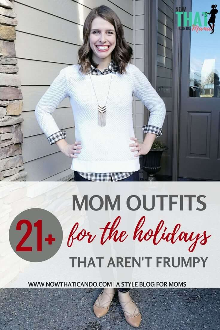 21+ Holiday Outfit Ideas (That Moms Can Actually Wear)