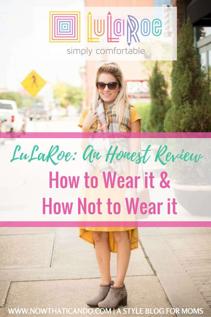 LuLaRoe: An Honest Review on the Pros and Cons of the Popular Trend (+ 5 Tips for Wearing it Right)