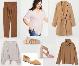 Fashion Forecast for Spring & Summer 2019 includes all shades of earth tones.  It's easy to include this trend in your closet for a chic, casual look. #style #trends #wardrobe #2019colors