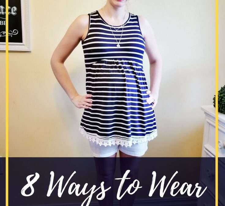 8 Ways To Wear A Blue & White Striped Shirt For Any Time Of Year