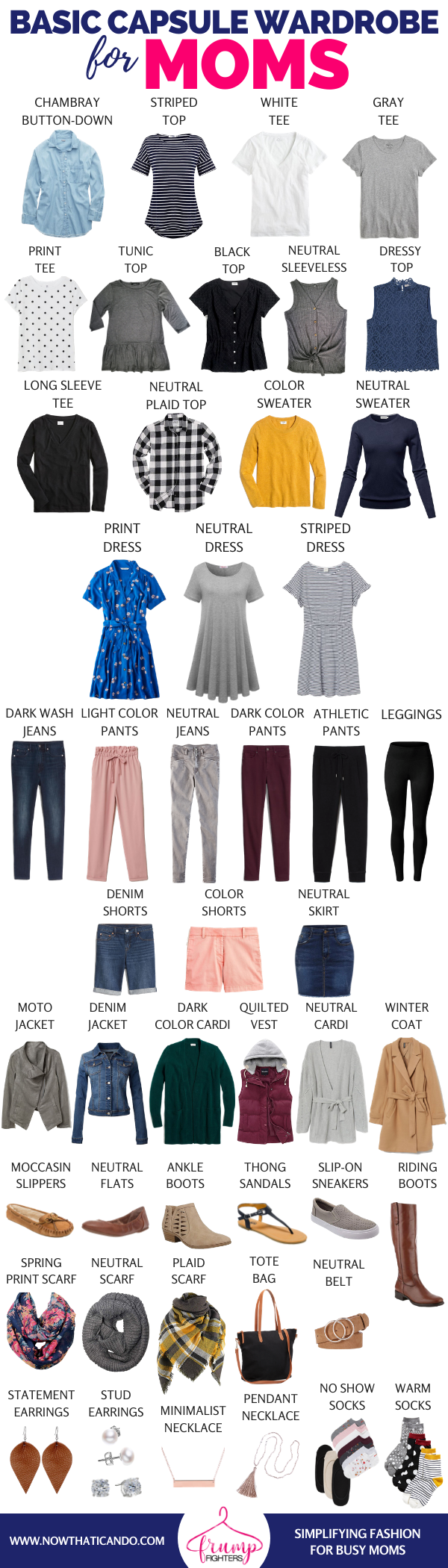 capsule wardrobe for moms you want to fight the frump