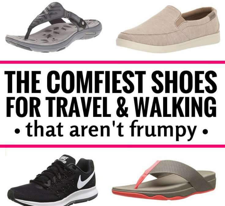 The Most Comfortable Travel & Walking Shoes That Aren't Frumpy