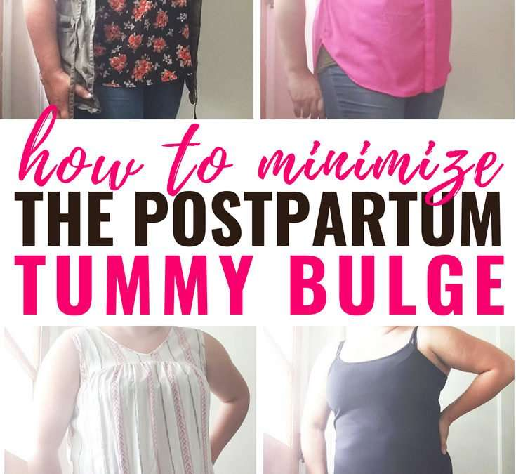 How to Dress for Your Postpartum Body (Minimizing the Tummy Pooch)