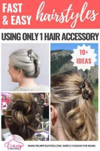 10 Easy Fast Feminine Hairstyles For Moms 5 Minutes Or