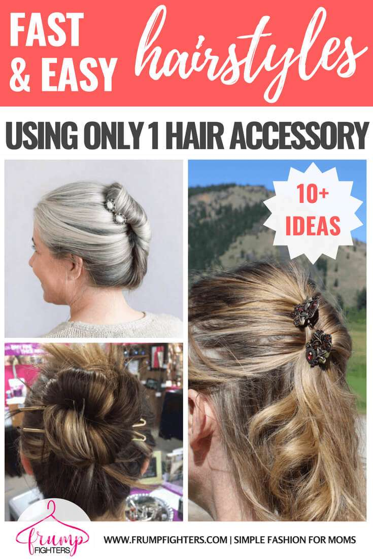 10 Easy, Fast, & Feminine Hairstyles for Moms (5 Minutes or Less)