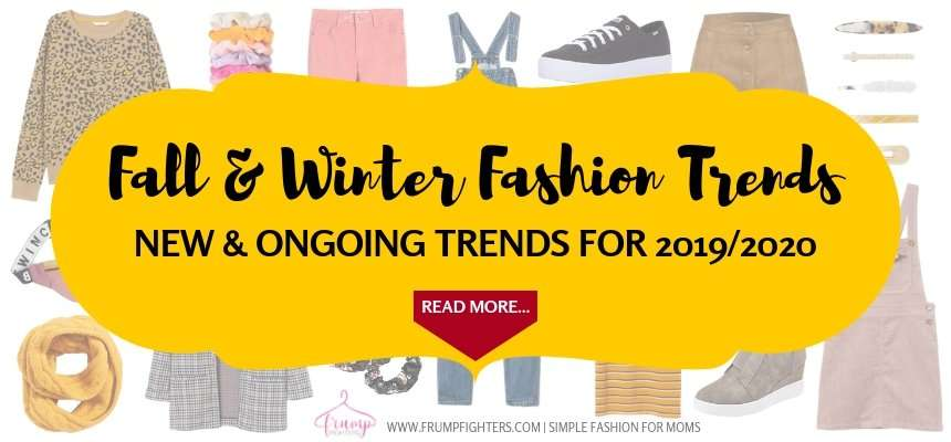 This mama blogger has the ultimate list of fall trends you can wear this year that are mom friendly and easy to add to your wardrobe! She's narrowed it down to the trends that will look good and not be out of style tomorrow. I love this blog! #fall #winter #fashion #trends #2019 #wardrobe