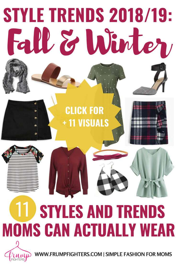 Easy & Comfy Fall/Winter 2018-2019 Fashion Trends That Are Mom Friendly