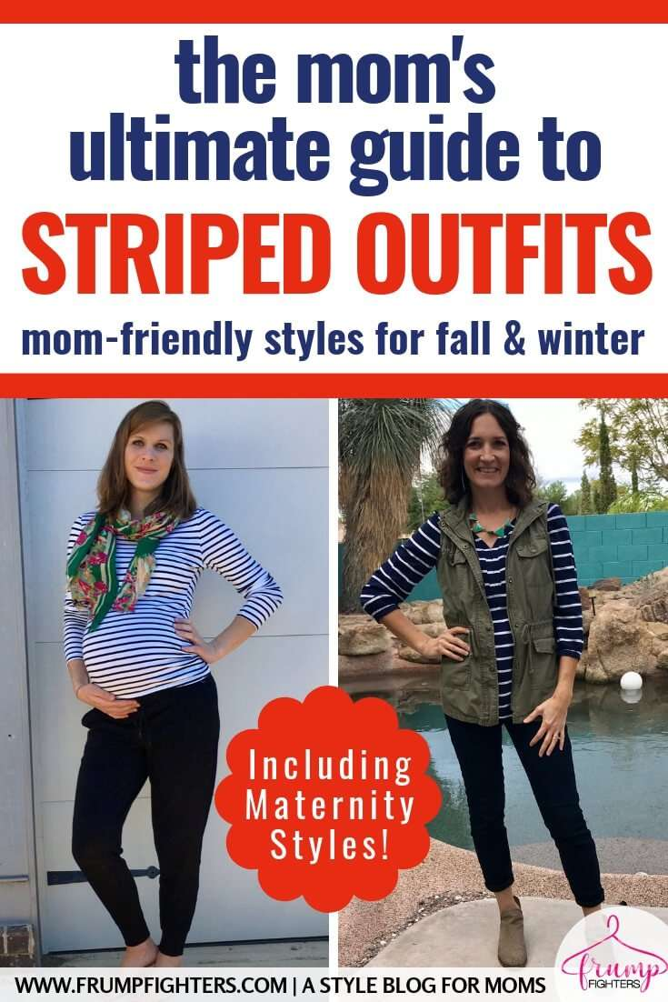 Inspiration for Styling Stripes in the Fall & Winter (30+ Mom-friendly outfit ideas!)