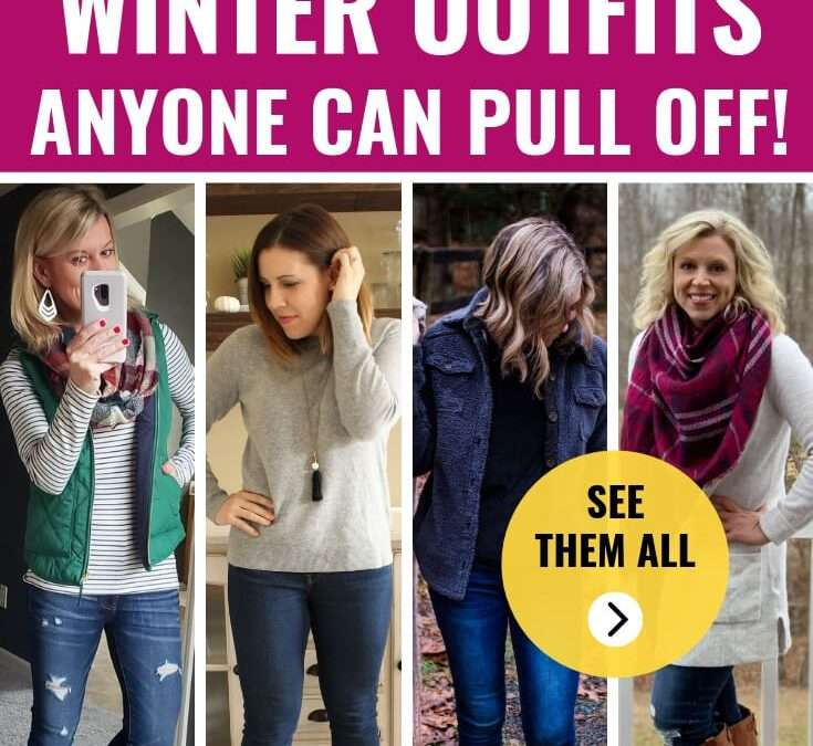 Go-To Casual & Cute Winter Outfits for Moms