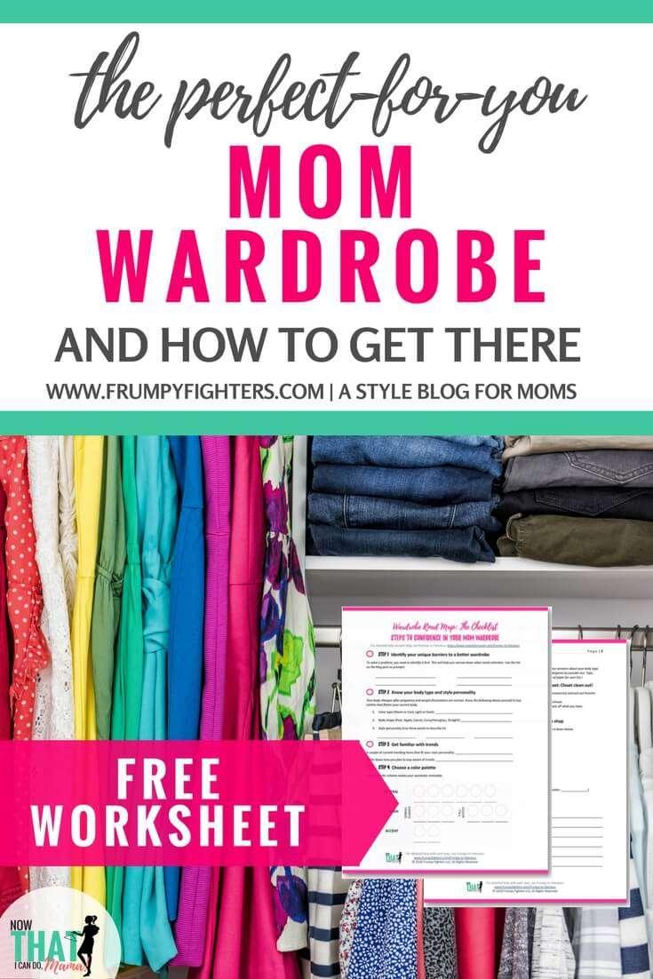 Roadmap to a Mom Wardrobe You Love Wearing (Free Worksheet)