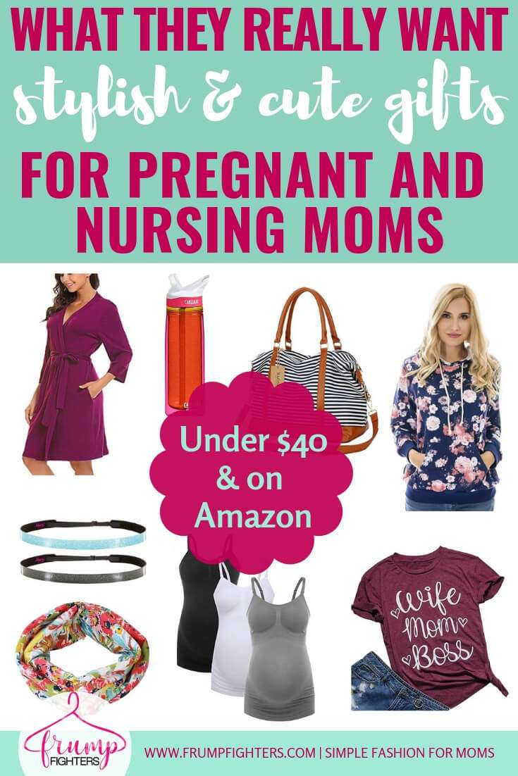 Stylish Gift Ideas for Pregnant and Nursing Moms