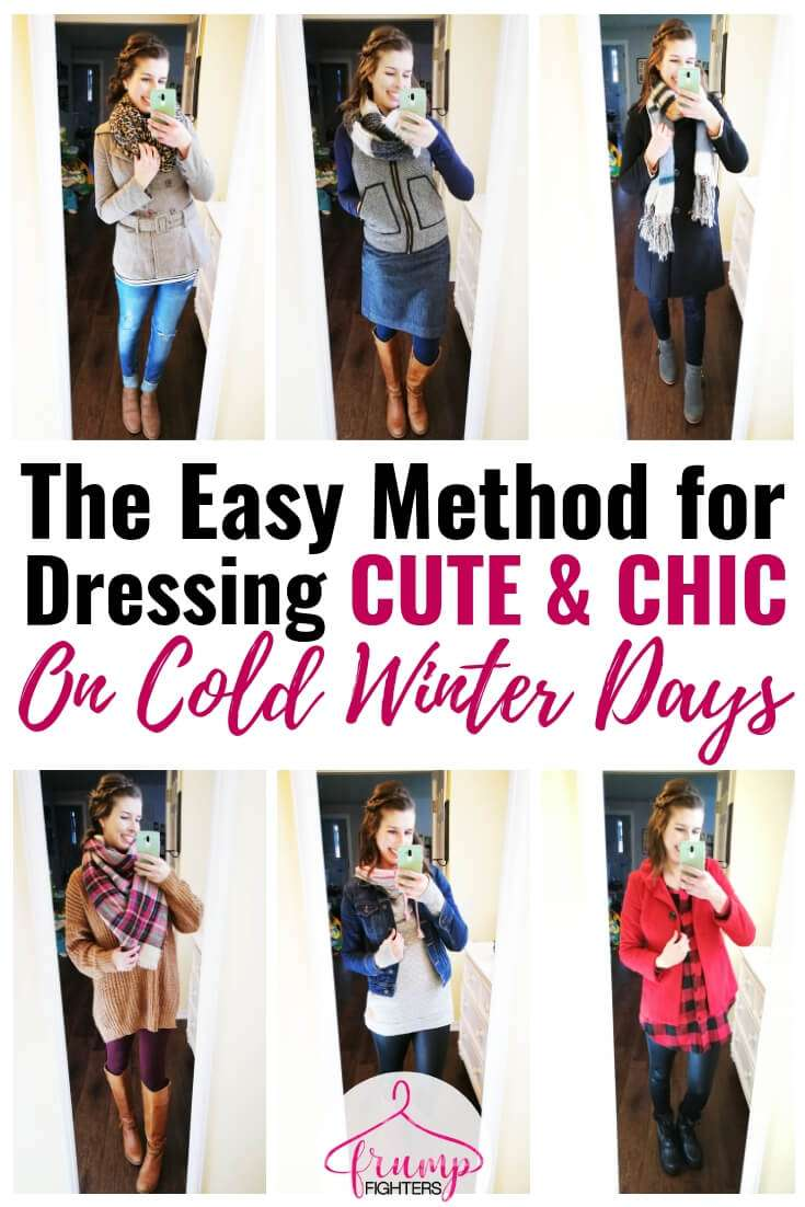 How To Dress Warm Cute In Winter Essentials List Layering Tips Outfit Ideas Easy Fashion For Moms