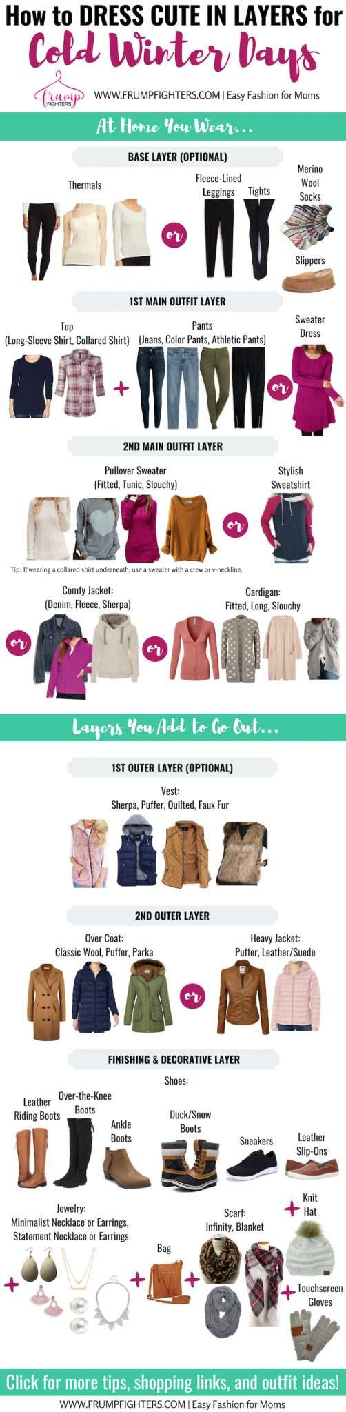 Cold Weather Cute Winter Dress Outfits