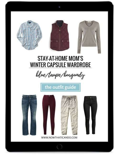 Winter outfit ideas for stay at home moms.