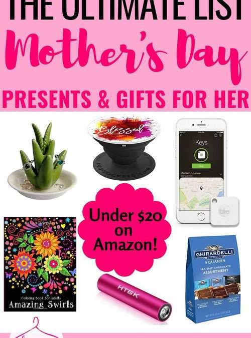 The Ultimate List of Gift Ideas for Stylish Moms – Mother's Day Edition!