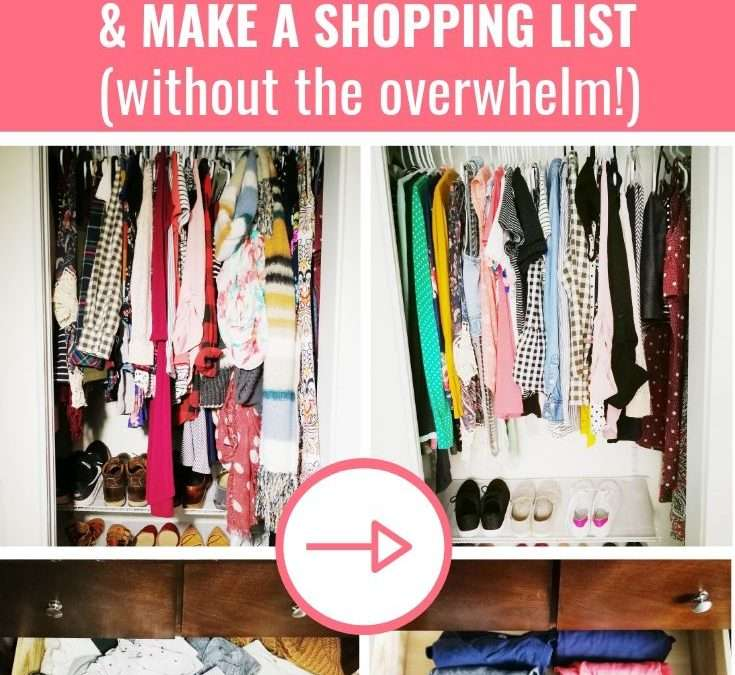 How To Declutter Your Closet & Purge the Clothes You Don't Need (+ Free Wardrobe Checklist)