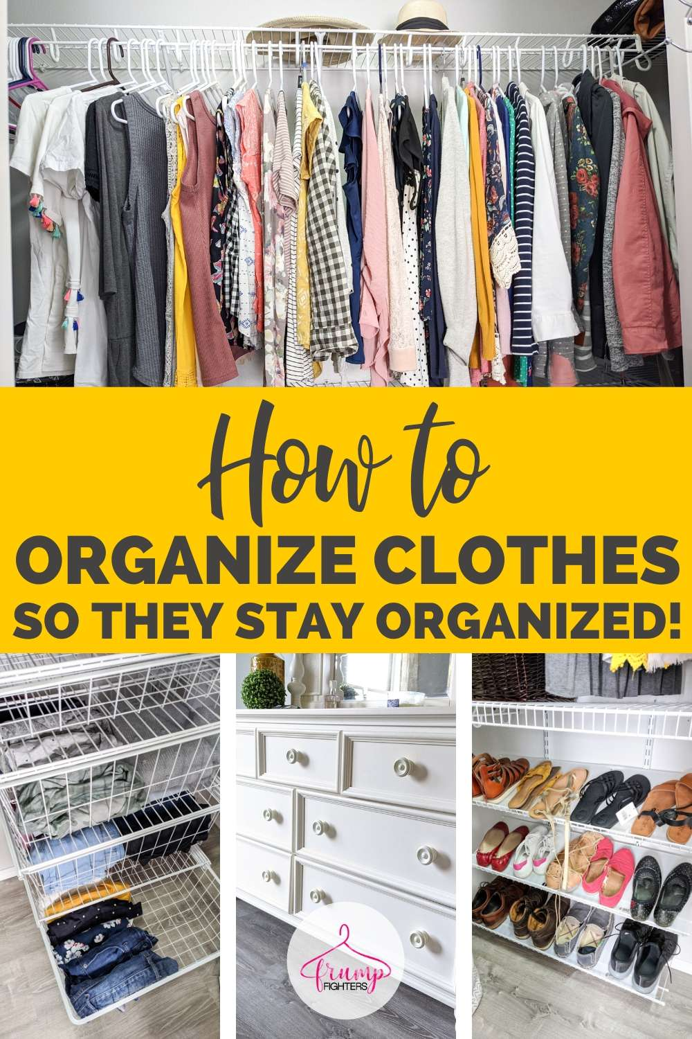 Best way to Organize the Clothes in your Closet