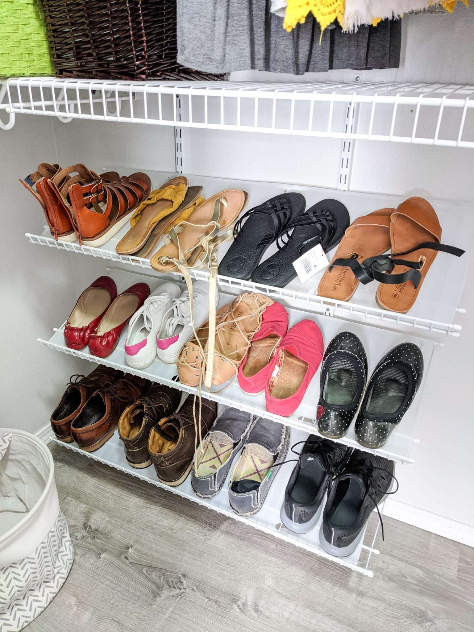 How to organize your closet - the best way to organize your shoes