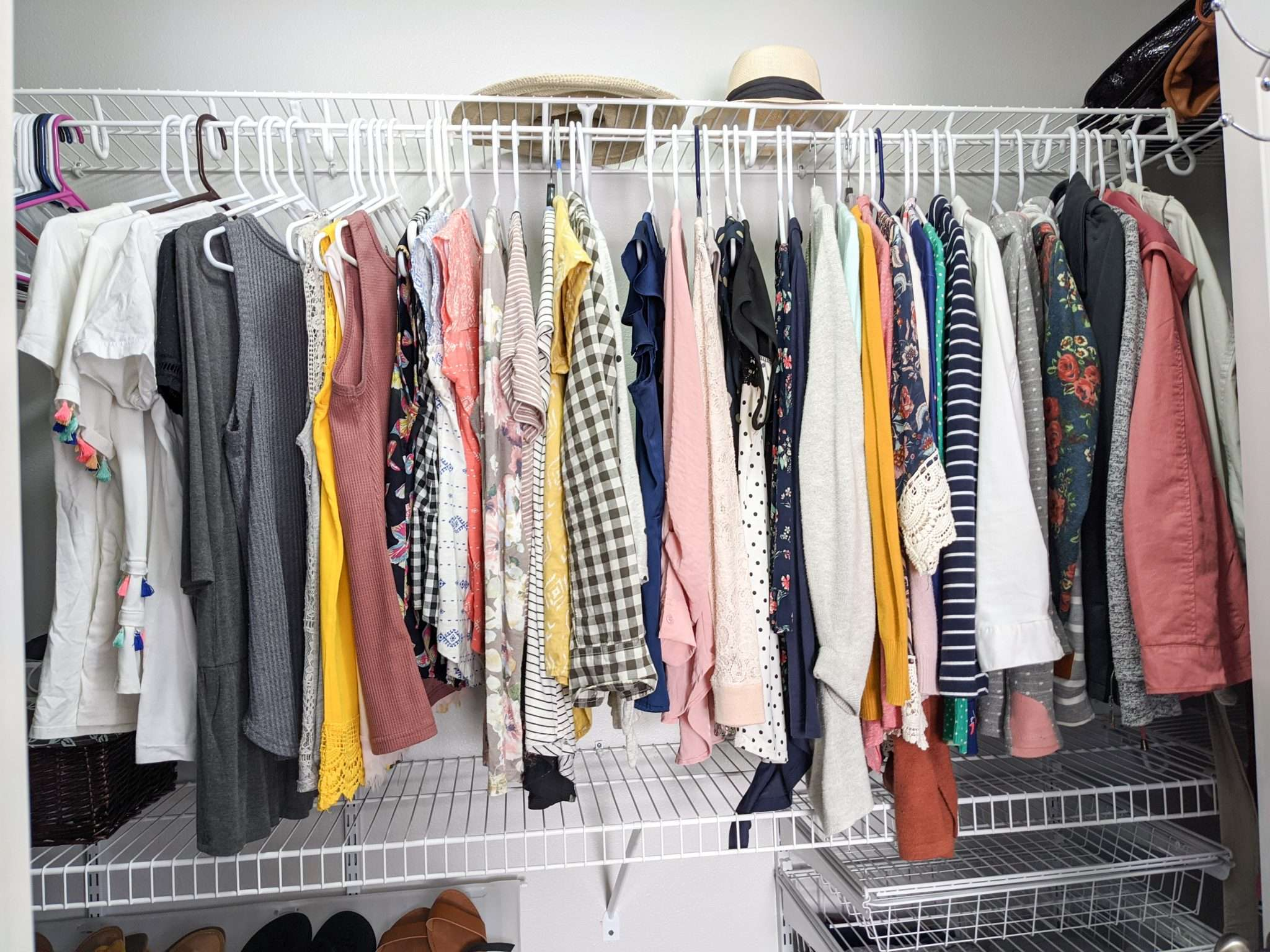 How to organize your closet - the best way to organize your clothes, shoes, jewelry (6)