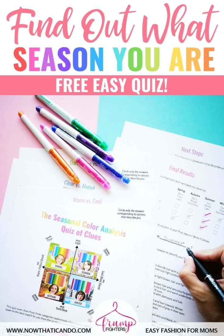 What Season Am I and What Colors Should I Wear? (FREE Quiz!)