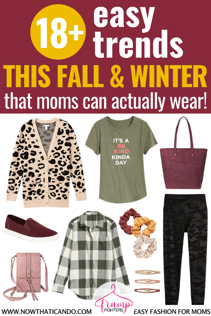 Fall & Winter 4/4 Fashion Trends That Anyone Can Wear  Easy