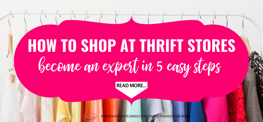 Make your thrift store shopping experience as painless as possible by using these 5 tips (+ one more bonus tip!) each time you are buying second hand. Find high quality clothes quickly and efficiently so you can save time and money.