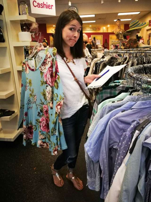 Be picky about your second hand clothing purchases.