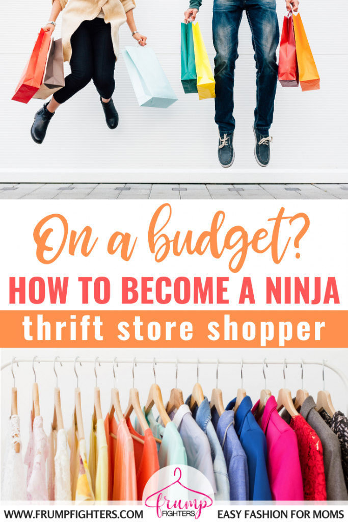 You can have a small budget and still find quality clothes second hand by using these 5 expert tips! I love how easy this mom has made my thrift store shopping experiences now! #shopping #clothes #budget #style #tips