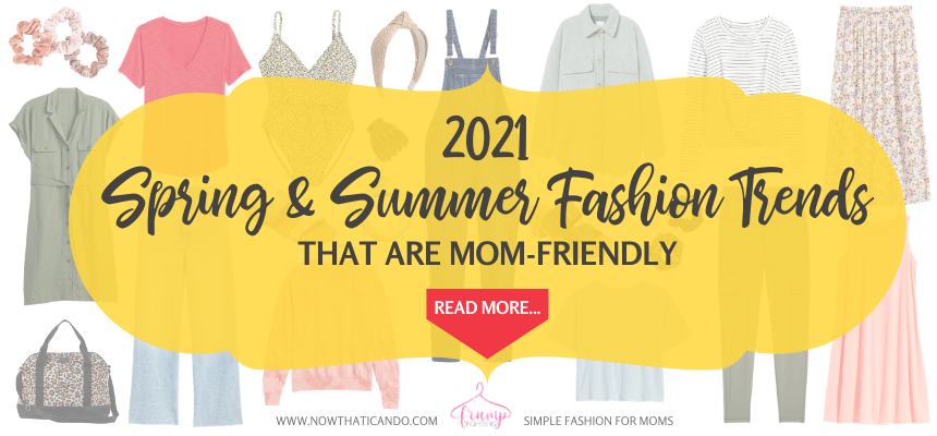 Looking for easy, chic trends for your spring and summer wardrobe? Check out this list of 20 simple and affordable ways you can include fun, current styles into your wardrobe. All mom friendly ideas! #fashion #momlife #summer #spring #outfitideas