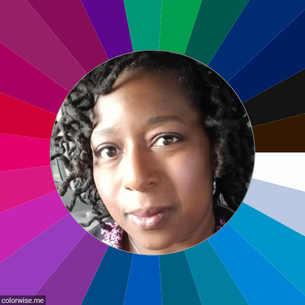 Deep Winter Woman of Color. How to do seasonal color analysis for black women