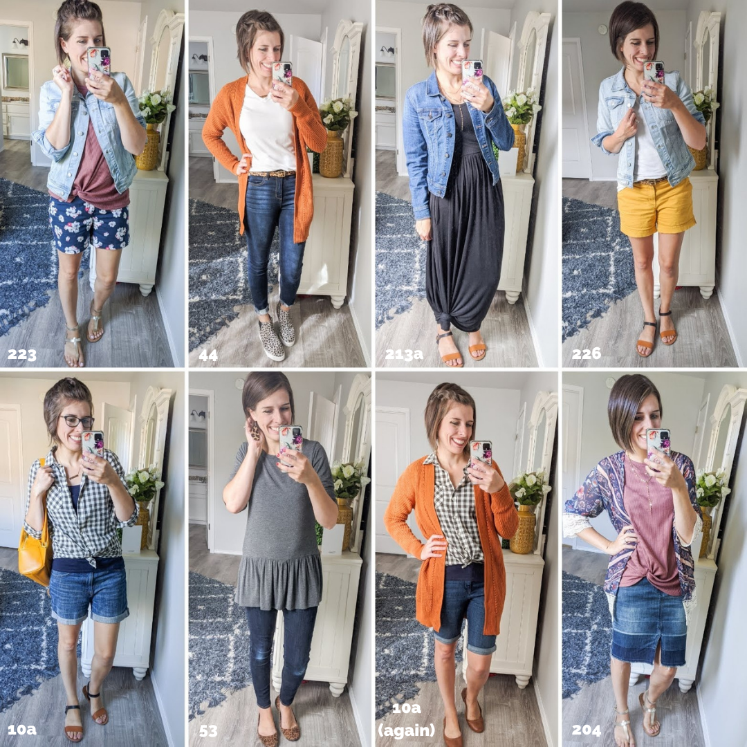 Summer to Fall transition outfits - How to transition summer clothes to fall.