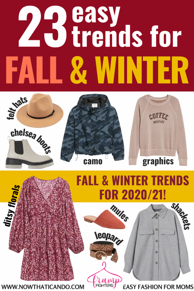 Do you know which trends are in this fall & winter? This blog has the best list of fashion trends that are actually wearable - especially in your mom life! Read this post to discover which trends are versatile and worth adding to your wardrobe! #fall #winter #fashion #trends #style #momlife
