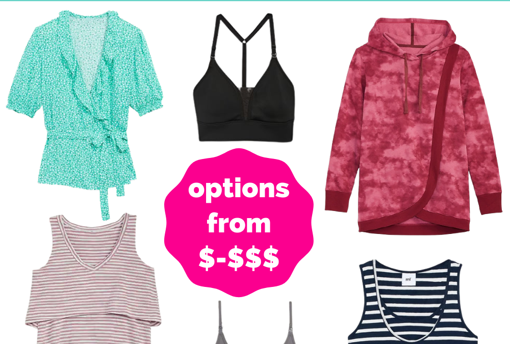 The Best Stores to Buy Breastfeeding Friendly Clothing on Any Budget